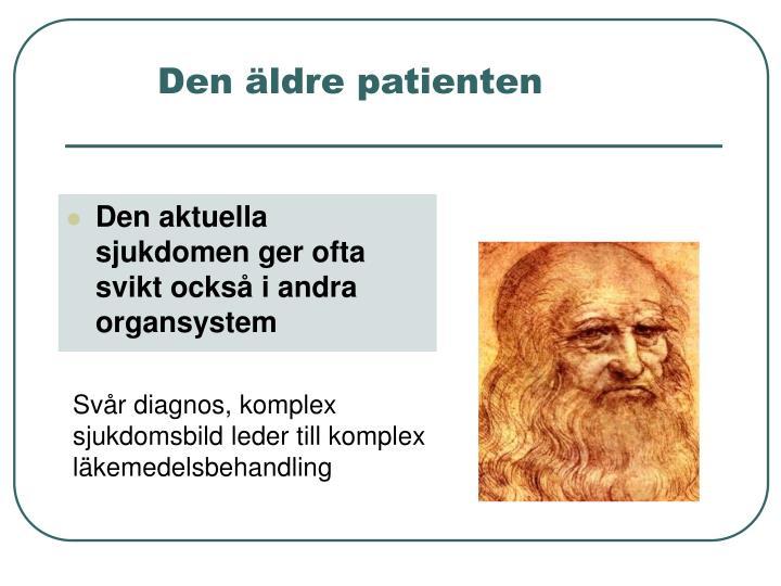 Den äldre patienten