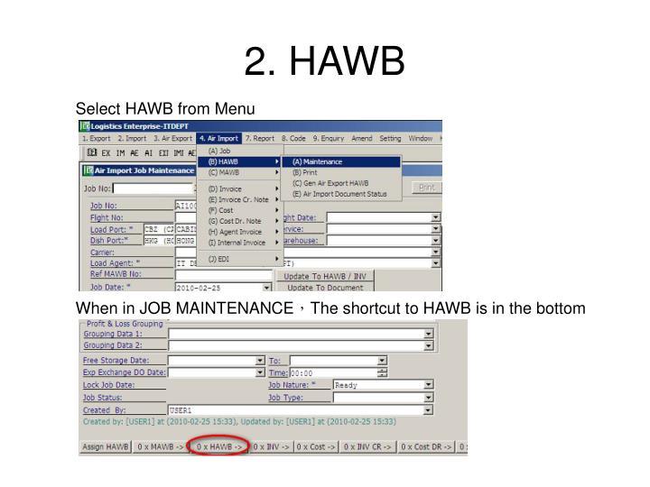 2. HAWB
