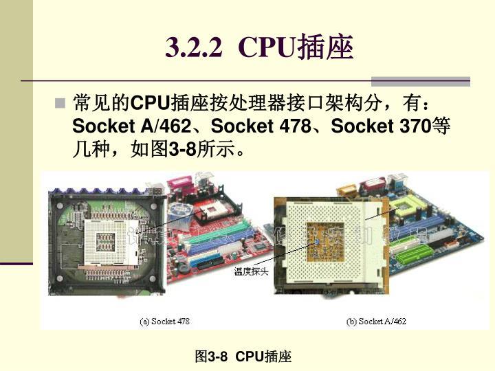 3.2.2  CPU