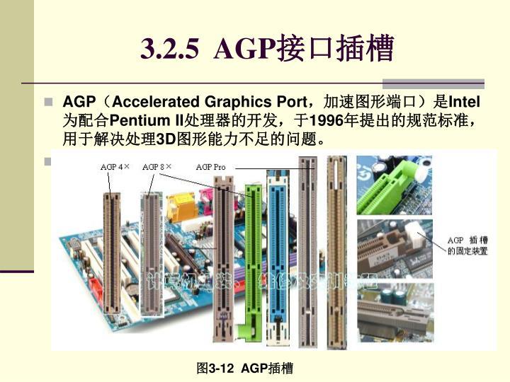3.2.5  AGP