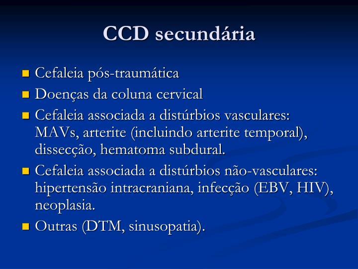 CCD secundária