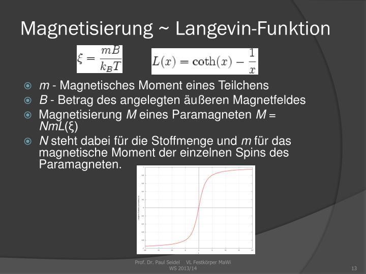 Magnetisierung
