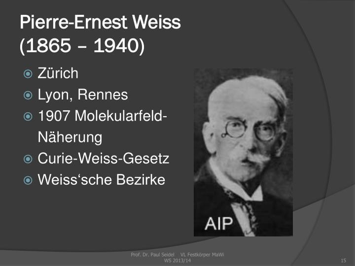 Pierre-Ernest Weiss