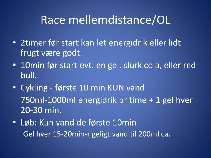 Race mellemdistance/OL