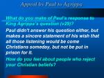 appeal by paul to agrippa1