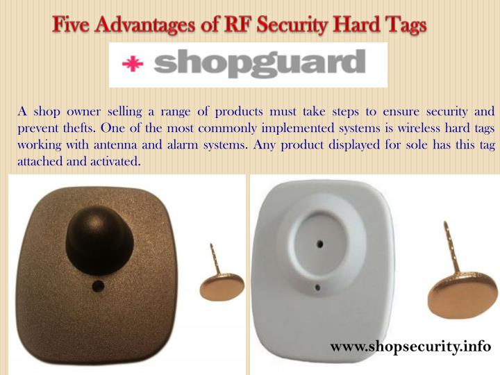 Five Advantages of RF Security Hard Tags