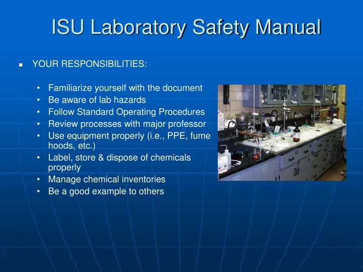 ISU Laboratory Safety Manual