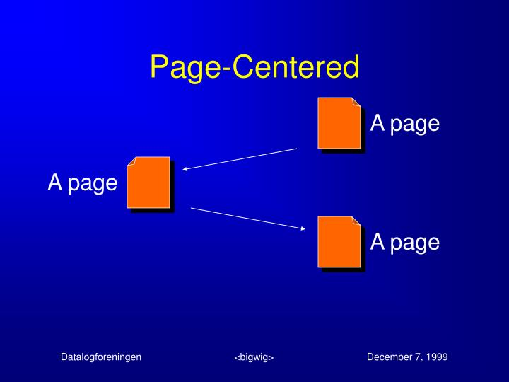 Page-Centered