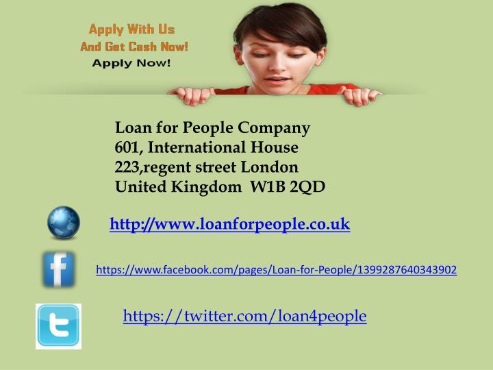 Loan for People Company