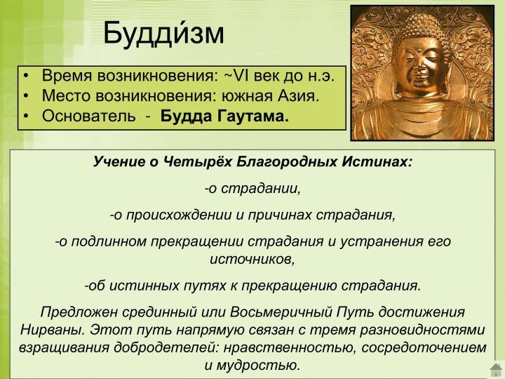 Будди́зм