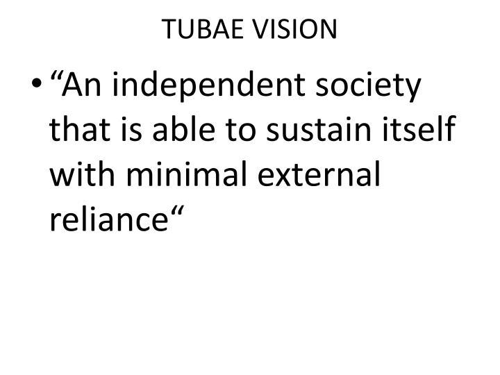 TUBAE VISION