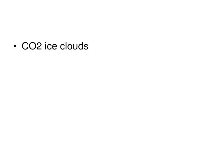 CO2 ice clouds