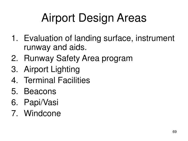 Airport Design Areas