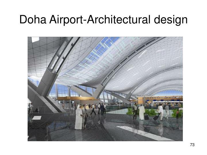 Doha Airport-Architectural design