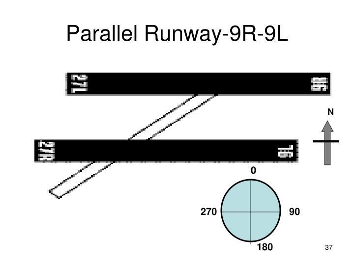 Parallel Runway-9R-9L
