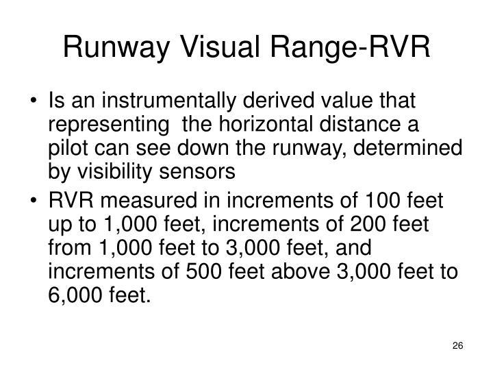 Runway Visual Range-RVR