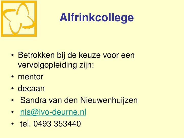 Alfrinkcollege