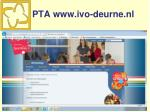 pta www ivo deurne nl