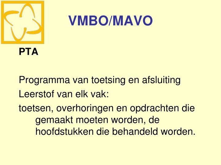 VMBO/MAVO