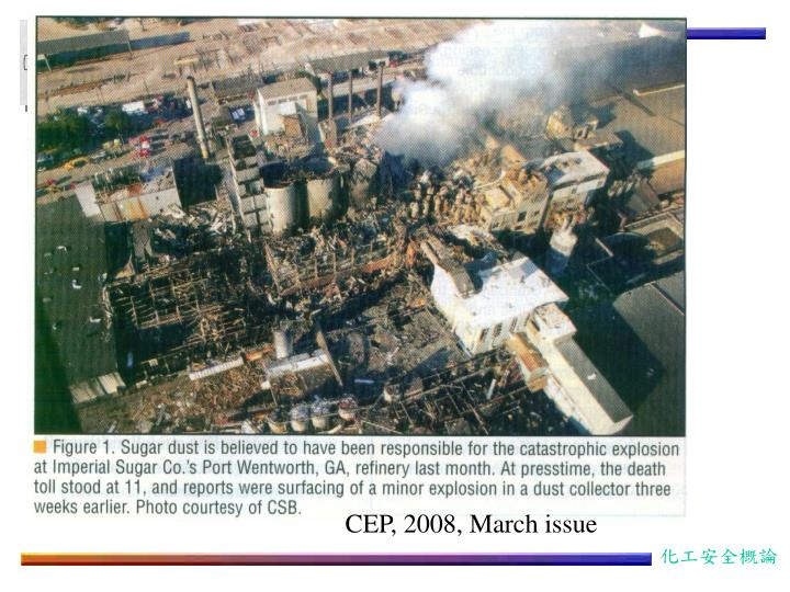 CEP, 2008, March issue