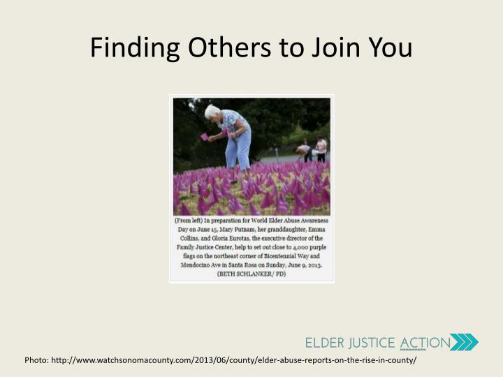 Finding Others to Join You