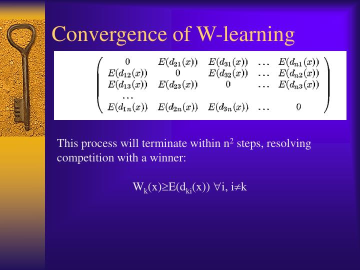 Convergence of W-learning
