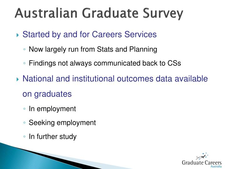 Australian Graduate Survey