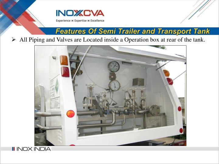 Features Of Semi Trailer and Transport Tank