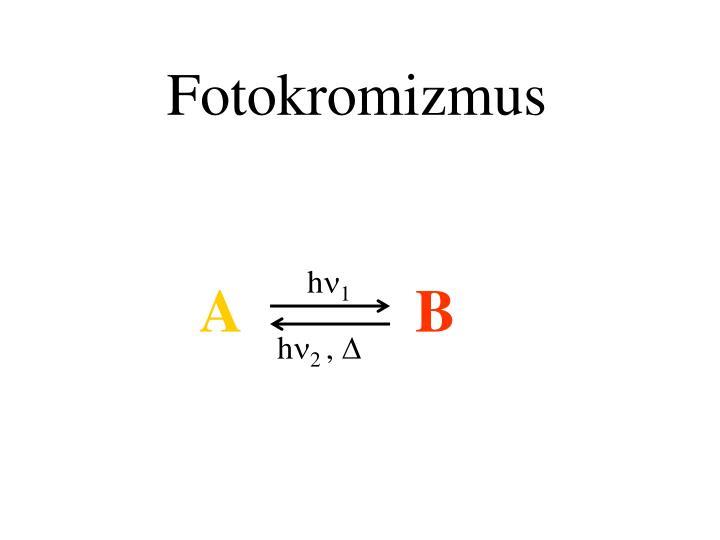 Fotokromizmus