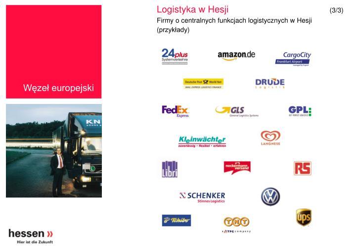 Logistyka w Hesji