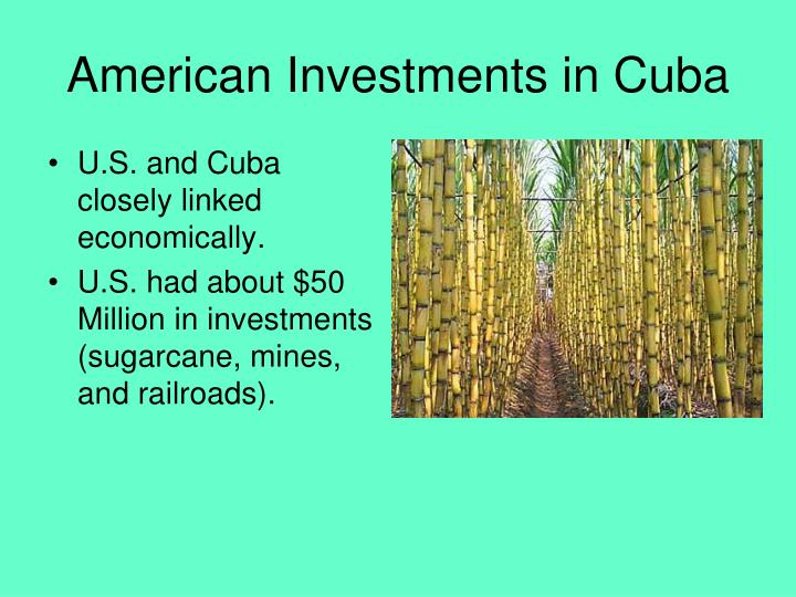 American Investments in Cuba
