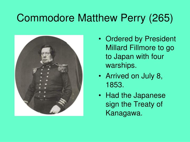 Commodore Matthew Perry (265)