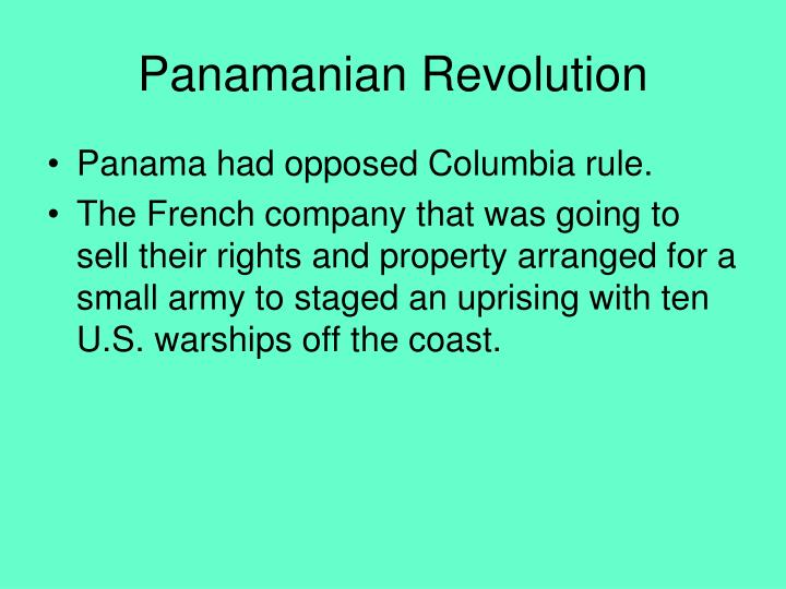 Panamanian Revolution