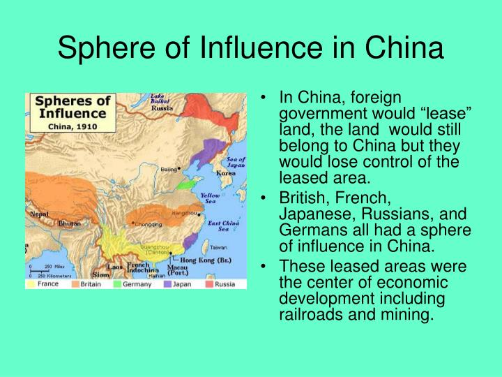 Sphere of Influence in China