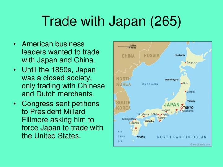 Trade with Japan (265)