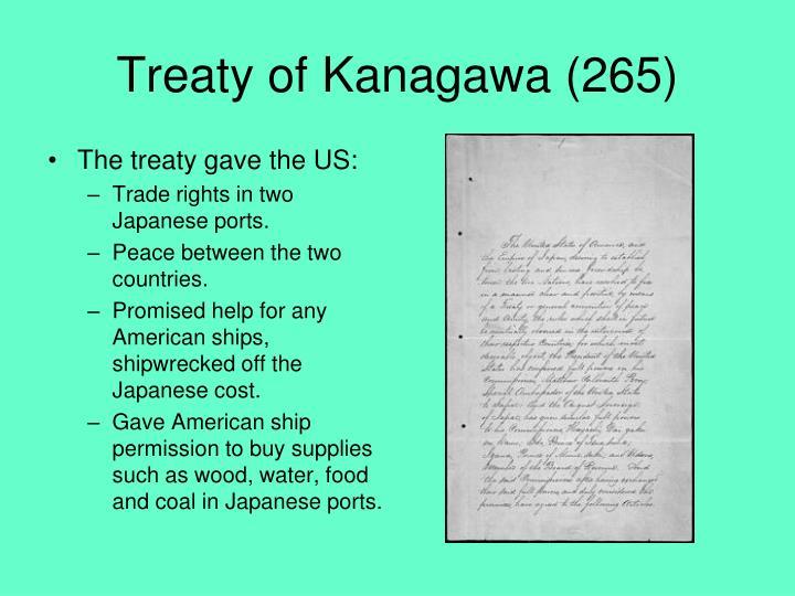 Treaty of Kanagawa (265)
