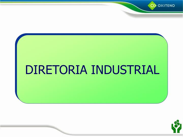 DIRETORIA INDUSTRIAL
