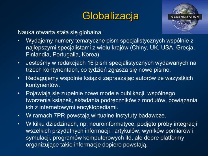 Nauka otwarta stała się globalna: