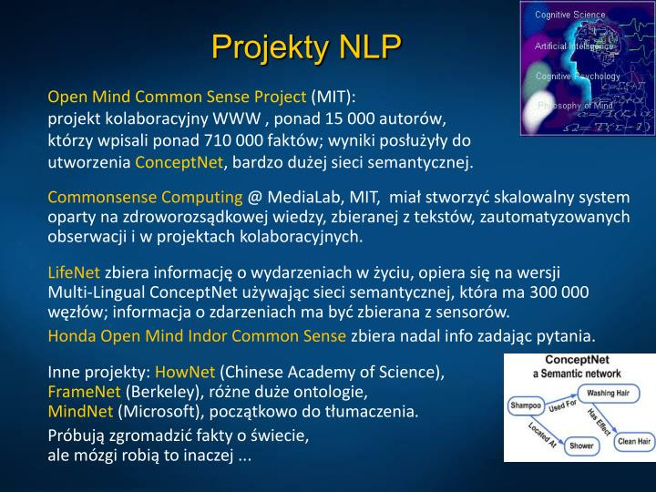 Projekty NLP