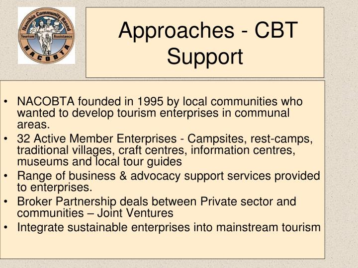 Approaches - CBT Support