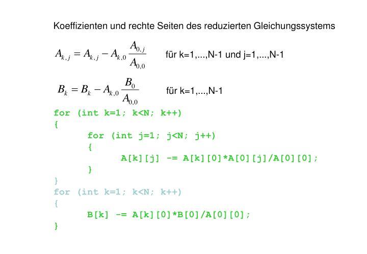 für k=1,...,N-1 und j=1,...,N-1