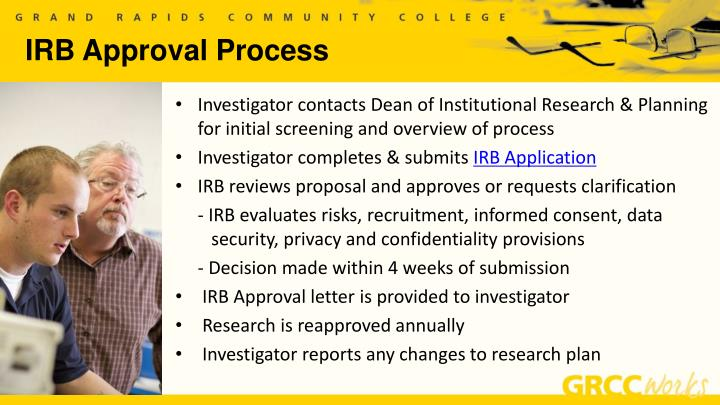 IRB Approval Process