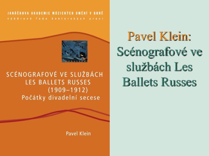 Pavel Klein: