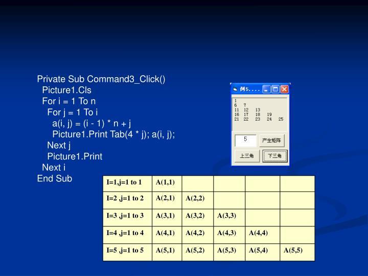 Private Sub Command3_Click()