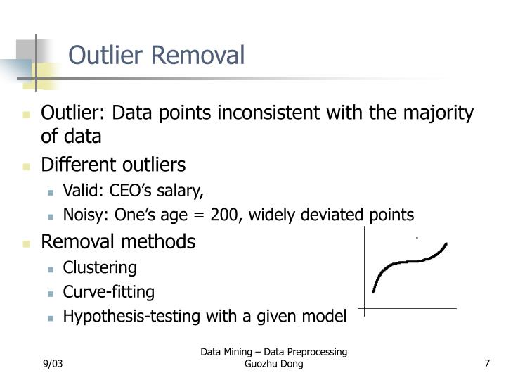 Outlier Removal