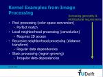 kernel examples from image processing