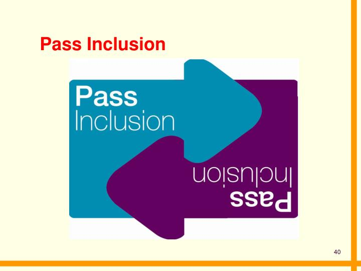 Pass Inclusion