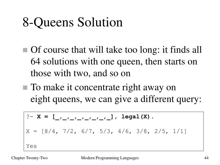 8-Queens Solution