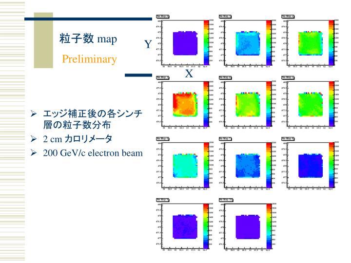 NMIP_map_corr_layer_EXP_20mm_200GeV