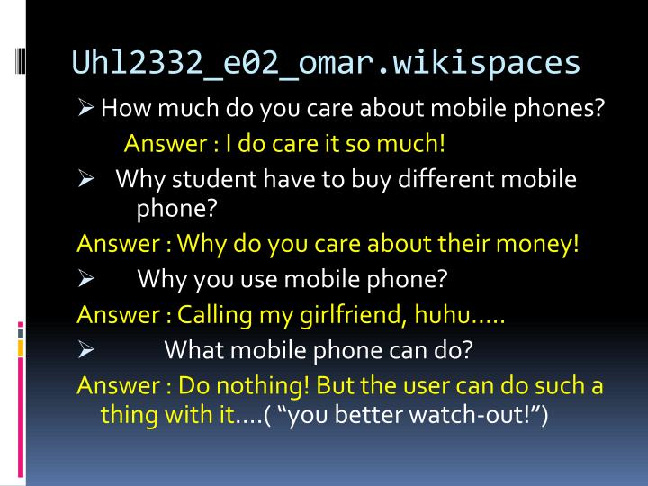 Uhl2332 e02 omar wikispaces